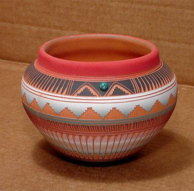 navajo pottery designs. Navajo Painted Pottery Designs N