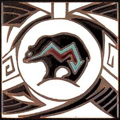 Anasazi Black Bear Design