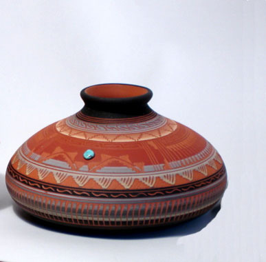 Navajo Painted Pottery