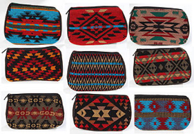 Native Design Cosmetic Bags